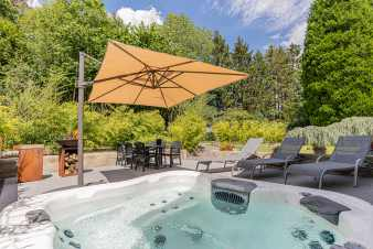 Holiday cottage in Libramont for 4/6 persons in the Ardennes