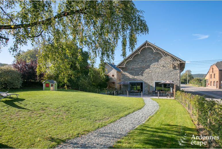 Holidays on the farm in Libramont for 6 - 7 people in the Ardennes
