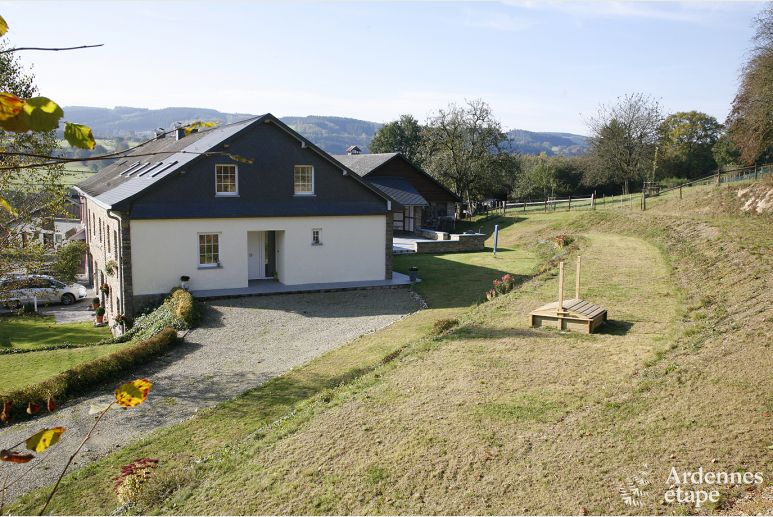 Pleasant holiday house for 7 persons to rent in Malmedy
