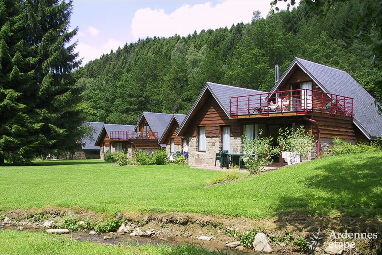 Comfortable chalet for 4/6 persons in a holiday village in Malmedy