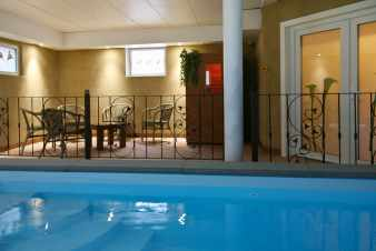 Luxury villa with indoor swimming pool for 9 persons' holidays in Malmedy