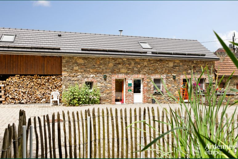 Holiday house in an old farmhouse in Malmedy in the Ardennes