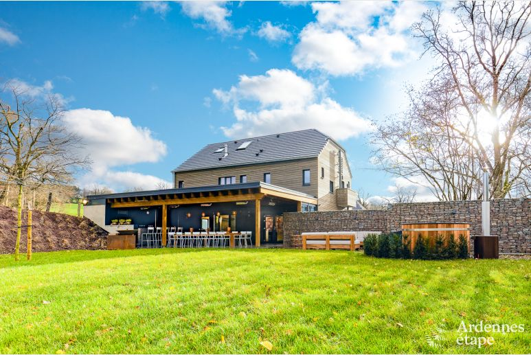 Exceptional and luxurious holiday home for 20 people in Malmedy