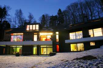 Luxurious holiday home in Malmedy with swimming pool and sauna