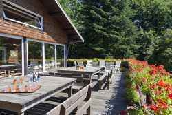 Holiday home for 26 persons in Manhay, with sauna in the Ardennes
