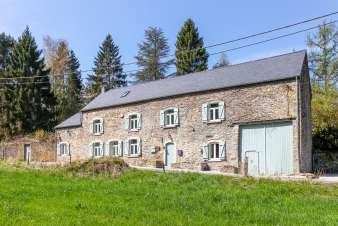Authentic and cosy holiday farmhouse cottage to rent in Maredsous