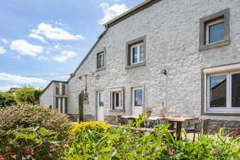 Charming holiday home for 9 people in Maredsous in the Ardennes