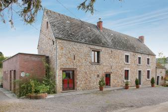 Authentic farmhouse in Namur for 24 people