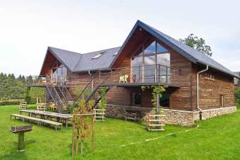 Chalet in Ovifat for 14 persons in the Ardennes