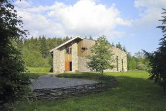 Luxury villa in Ovifat for 10 persons in the Ardennes