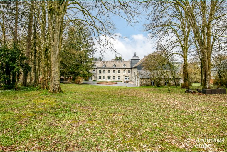 Castle in Paliseul for 15 persons in the Ardennes