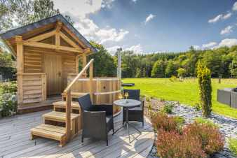 Holiday cottage in Paliseul for 10 persons in the Ardennes