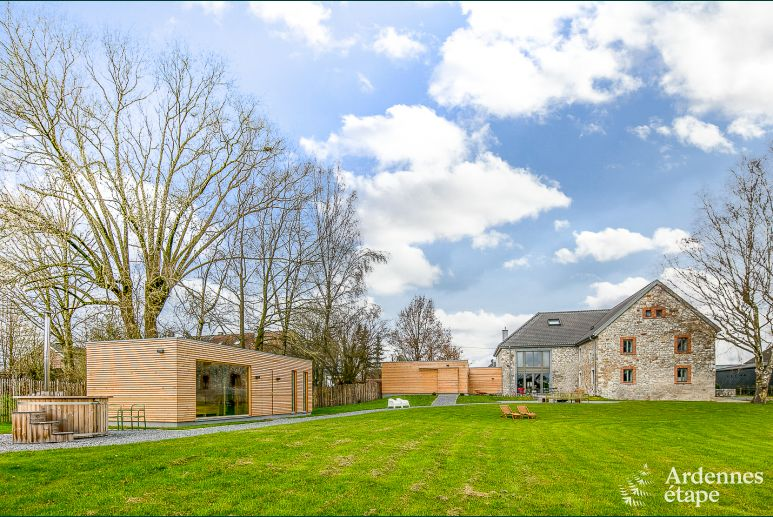 Holiday cottage in Raeren for 20 persons in the Ardennes