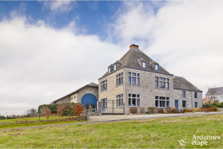 4-star castle for 18 persons near Rochefort