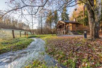 Chalet in Saint-Hubert for 2 persons in the Ardennes