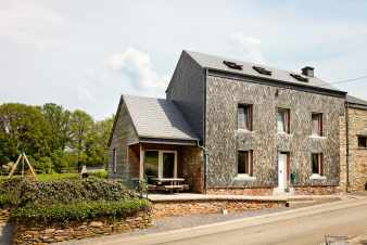 Holiday house for 9 persons in Libin (Luxembourg province)