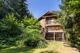 Chalet in Somme-Leuze for eight people in the Ardennes