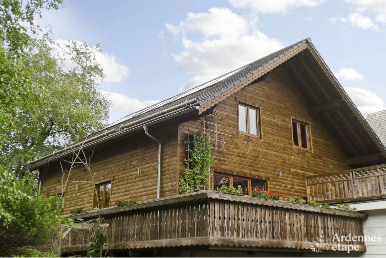 Chalet in Sourbrodt for 11 persons in the Ardennes