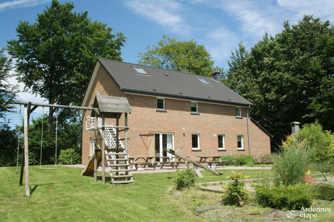Holiday Home For 18 Persons In Sourbrodt With Sauna And