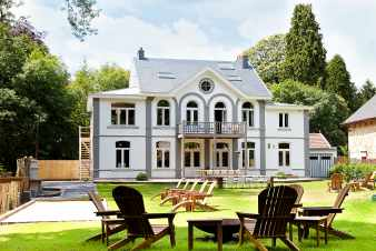 Holiday house with character and 4-star comfort for 20 pers. in Spa