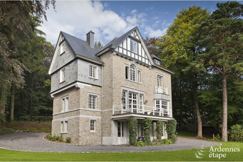 Castle in Spa for 9 persons in the Ardennes