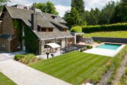 Luxury villa for 14 pers. with garden, pool and wellness to rent in Spa
