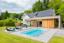 Luxury villa for 6 persons with garden and pool in Spa, dogs allowed