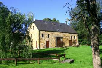 Holiday house for 20 people to rent in Sprimont in the Ardennes