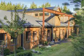 Turned-holiday-cottage sawmill to rent for explorer holidays in St Vith