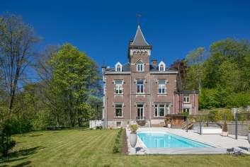 Castle in Stavelot for 8 persons in the Ardennes