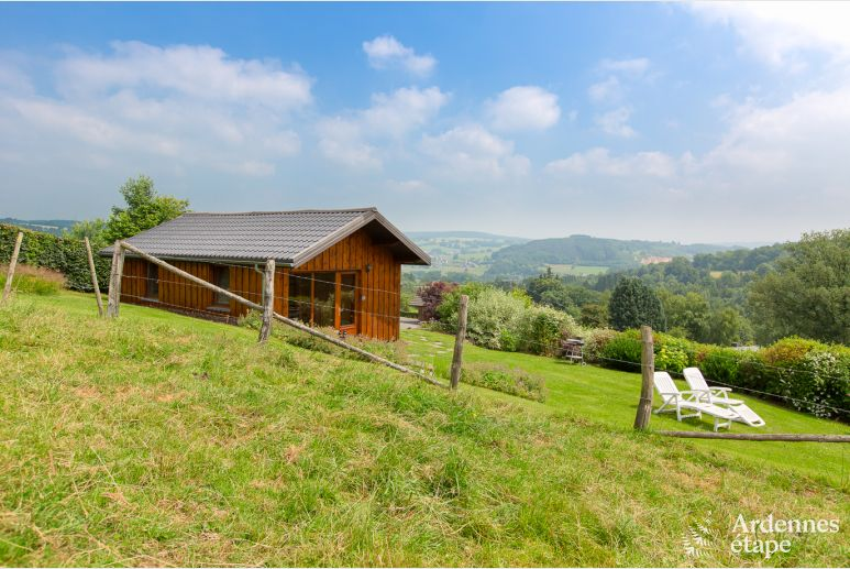 Comfortable holiday cottage for 2 with stunning views on Stavelot