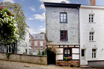 Holiday cottage for 5 pers. to rent in the historical centre of Stavelot