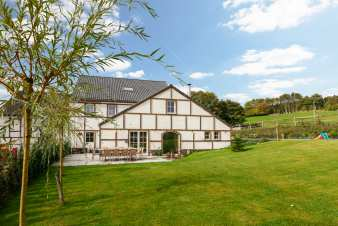 Holiday cottage in Stavelot for 15 persons in the Ardennes
