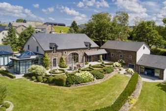 Beautiful luxury villa for 10 - 14 people with all comforts in Stavelot