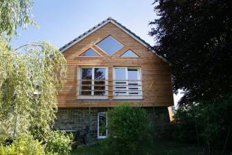 Comfortable wooden holiday home in Stoumont in the Ardennes