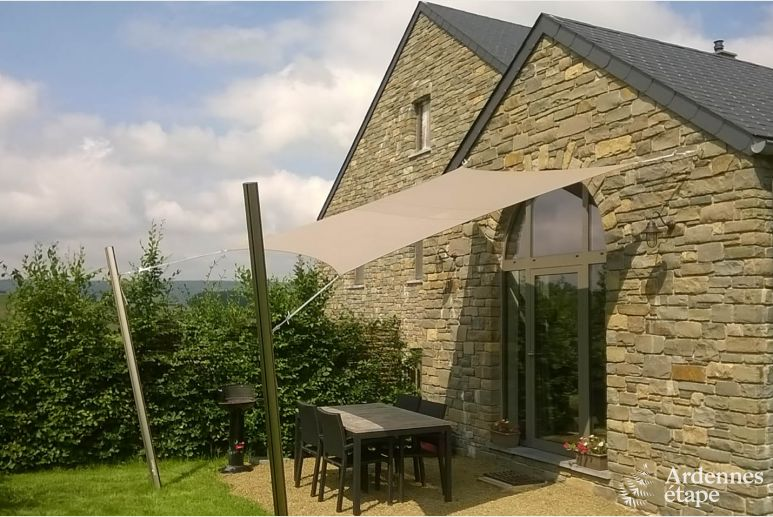 New rental holiday cottage for 4 persons on the heights near Stoumont