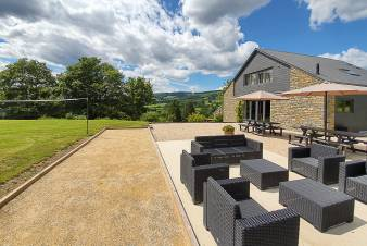 4-star holiday house for 11 people for rent in the Ardennes (Coo)