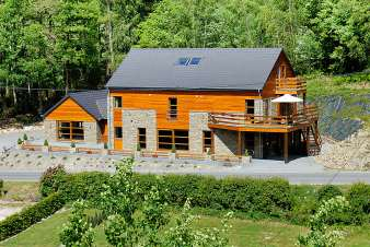 Luxury villa in Stoumont for 24 persons in the Ardennes