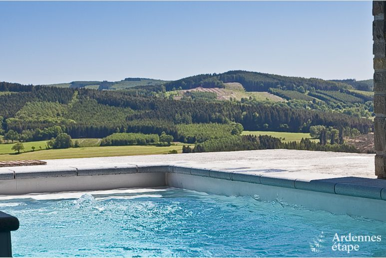 Luxury villa in Stoumont for 18/20 persons in the Ardennes