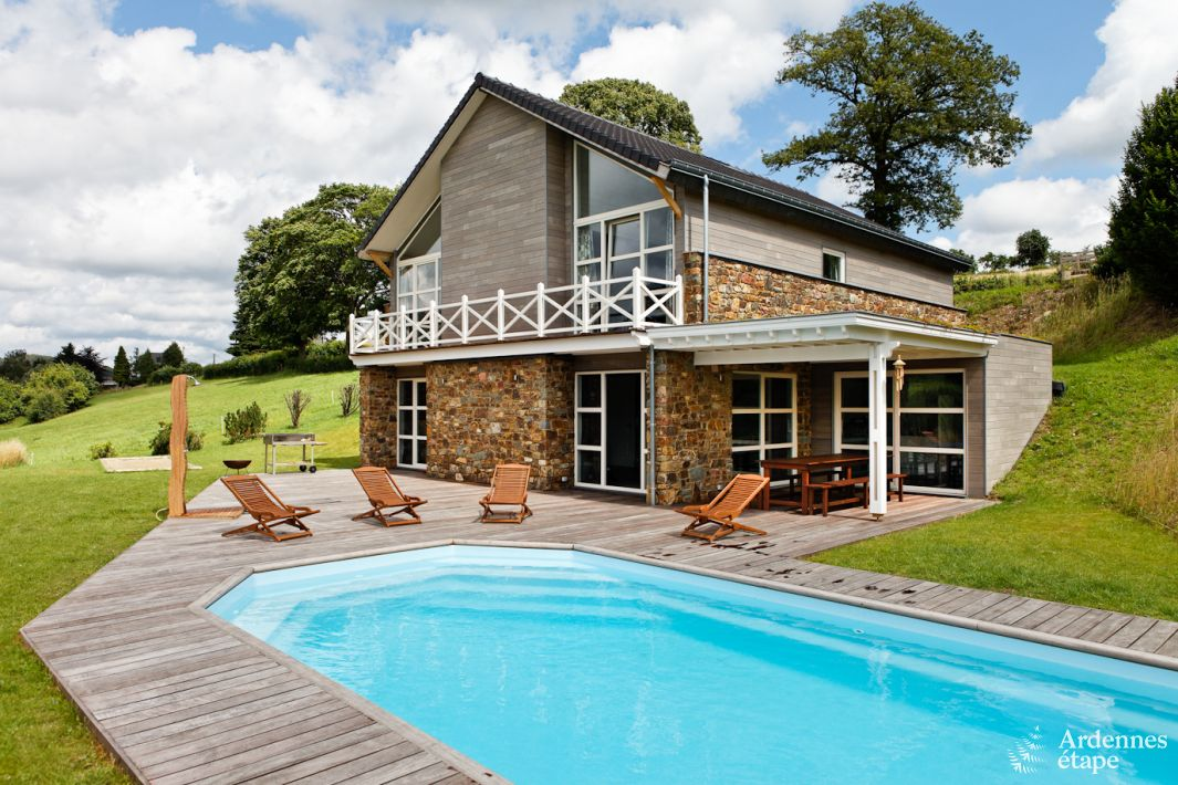 Holiday Cottage With Outdoor Pool For 15 Pers To Rent In Stoumont