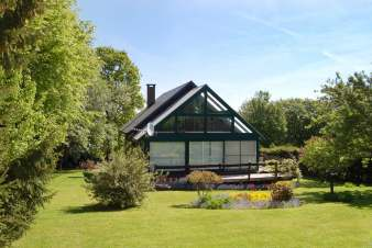 Cosy holiday chalet for 9 pers. to rent in Vencimont, dogs allowed