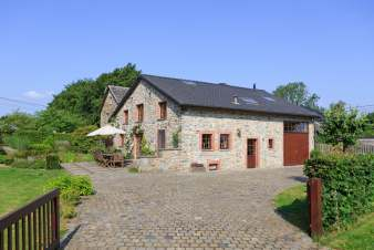 3-star gite for 7 people near Vielsalm with sauna and garden