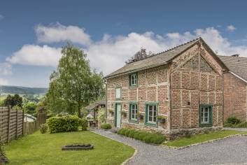 Holiday cottage in Vielsalm for 2/4 persons in the Ardennes