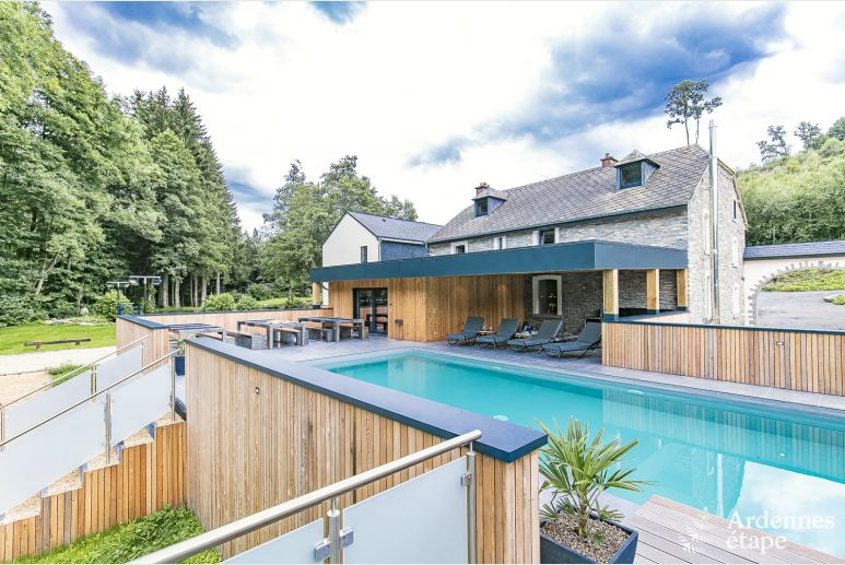 Luxury villa in Vielsalm for 16 persons in the Ardennes