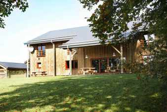 Luxurious holiday home with sauna for 22 persons in Vielsalm