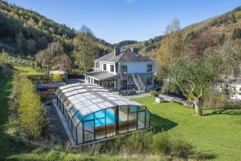 4-star luxury villa in Vielsalm for 21 persons