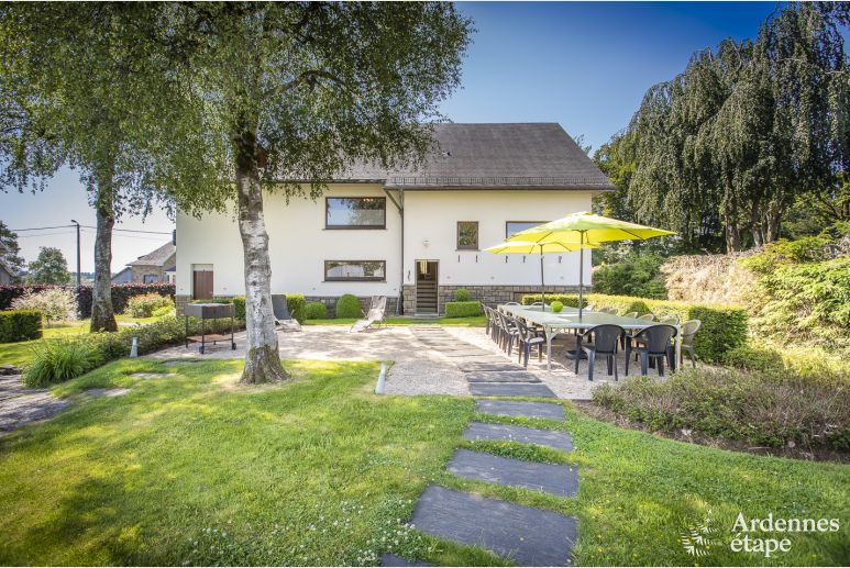 Holiday cottage in Waimes for 15 persons in the Ardennes