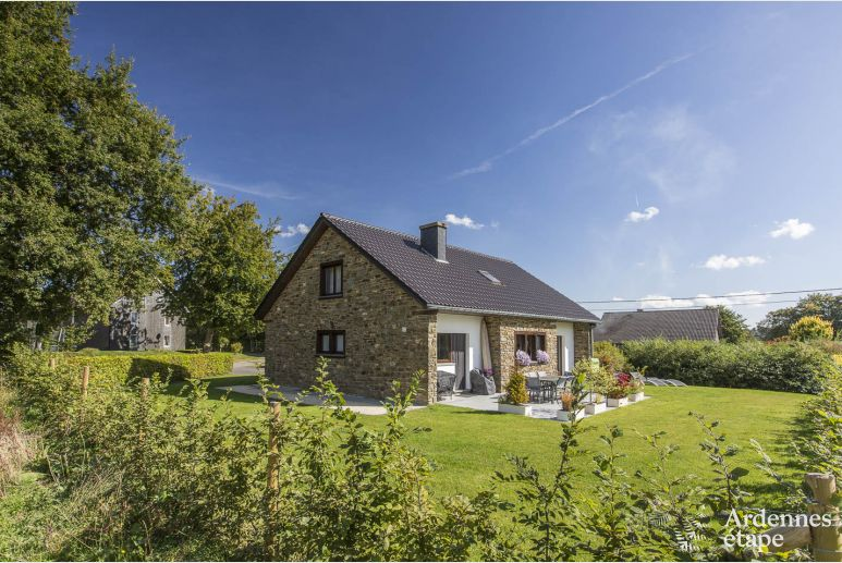 Authentic Ardennes village home to rent for a 3-star holiday in Waimes