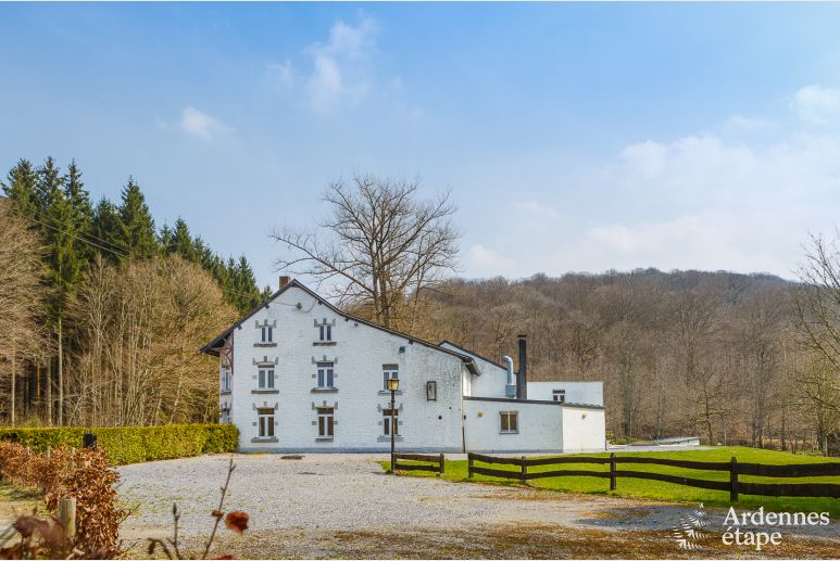 Former hotel transformed into holiday cottage with spa and game room