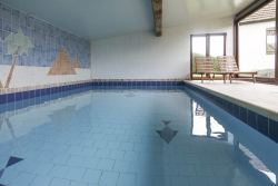 Group accommodation with inside pool for 12 pers. to rent in Wellin